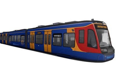 Modern European Tram
